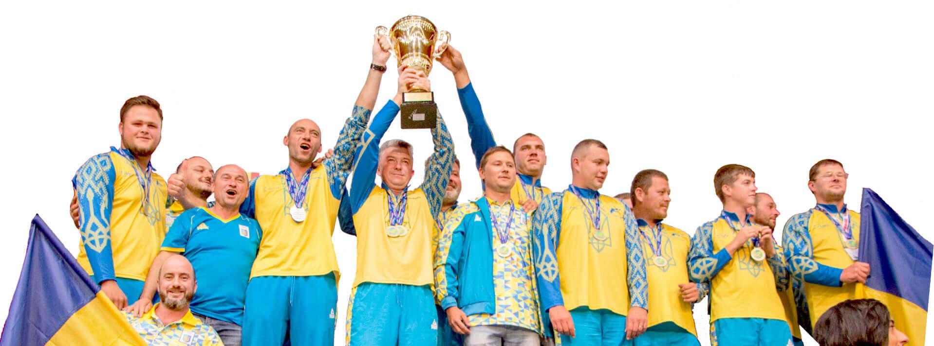 Збірна України з рибалки 2018